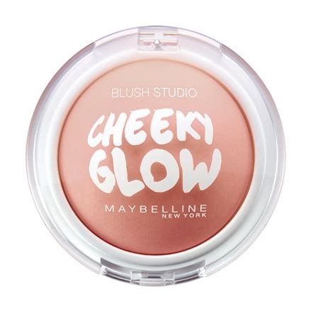 Bedak Glow Glowing review maybelline blush studio cheeky glow journal by sociolla