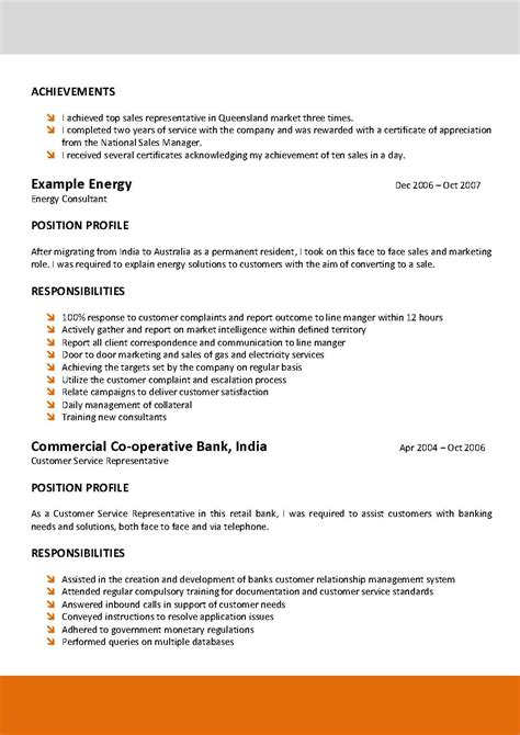 nsw government resume template resume template electrician australia south florida