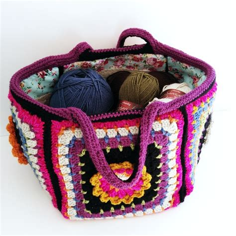 crochet project bag pattern frida s flowers project bag quick start guide
