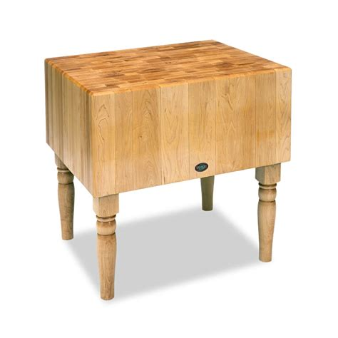 Kitchen Furniture Island by Monarch Double Dovetail Chopping Block