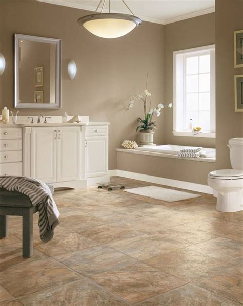 water resistant wood flooring for bathrooms 29 vinyl flooring ideas with pros and cons digsdigs