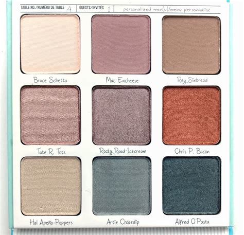 The Balm Eyeshadow Pallette the balm appetit eyeshadow pallette