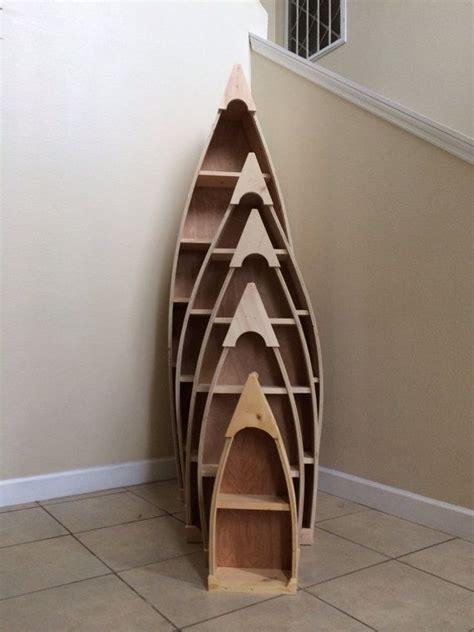4 foot row boat bookshelf bookcase shelf nautical cabin