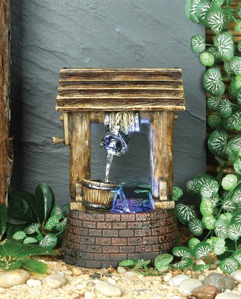 how many lights for a well lit 12 foot christmas tree wishing well water feature with light