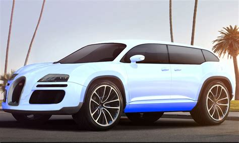 bugatti pickup rendered rumors bugatti galibier back in pipeline as