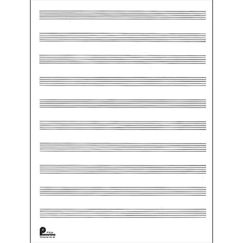 Musical Staff Lines Only On Flash Cards Template by Sales Manuscript Paper No 2 24 Fold Sheets