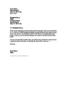 apology letter for damaged shipment for microsoft sample