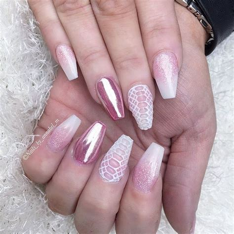 images  chrome nails  pinterest