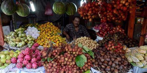 Tempat Buah Sayur Lipat Keranjang Buah Sayur Lipat Tirisan Sayur Pro hasil bumi tani harga buah impor melonjak produk lokal harus didorong