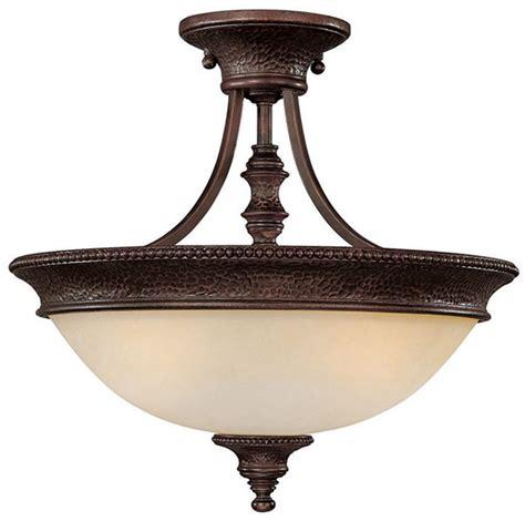 capital lighting 3563bb hill house transitional semi flush
