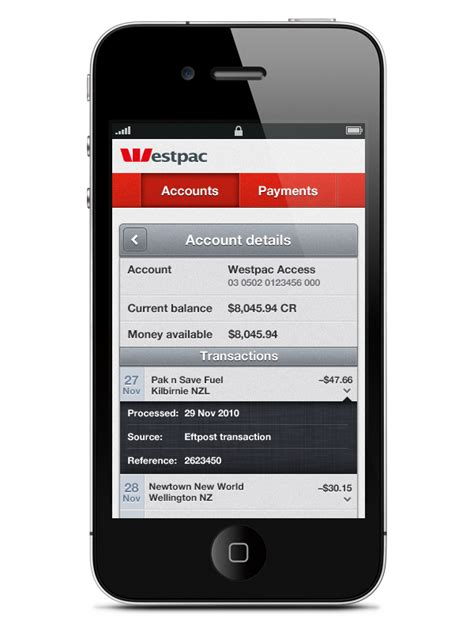 westpac mobile westpac mobile banking on behance