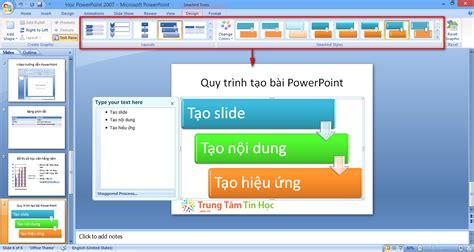 layout trong powerpoint là gì tạo c 225 c th 224 nh phần cơ bản trong powerpoint 2007 ttth