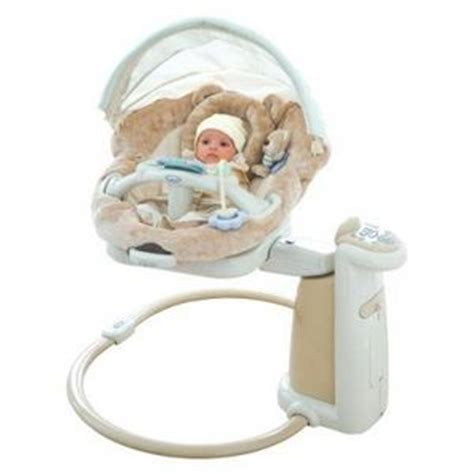 baby soother swing graco sweetpeace newborn soothing center 1762140 1812927