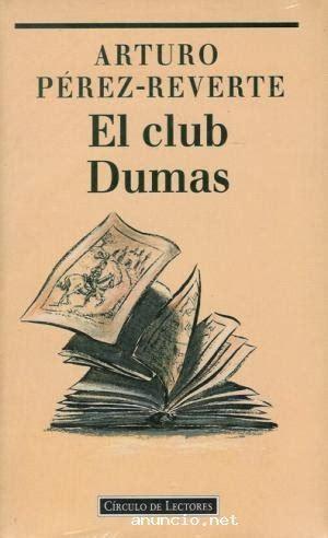 el club dumas 8490628343 rinc 243 n revuelto el club dumas arturo p 233 rez reverte