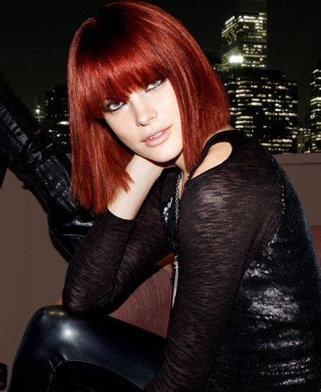 trendy cuts for vibrant red hair 25 best vibrant red hair ideas on pinterest maroon hair