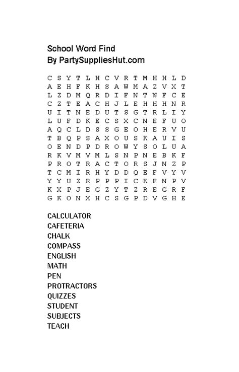 printable word search graduation high school word search puzzles