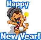 happy new year smileys animated chagne glasses emoticon emoticons and smileys for