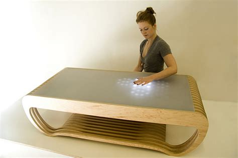 Interactive Led Coffee Table Interactive Led Coffee Table Ripple