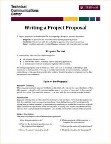 writing a proposal example business proposal templated