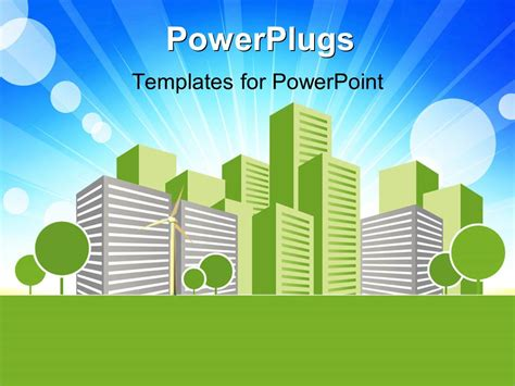 get themes for ppt powerpoint template real estate concept vector art design