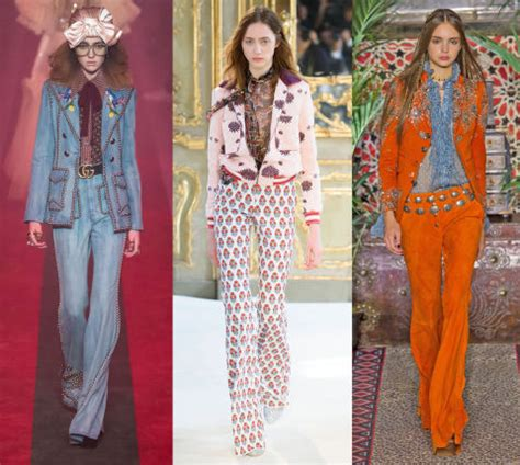 abiti anni 70 figli dei fiori moda anni 70 le tendenze e i look primavera estate 2017
