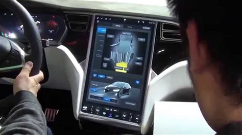 suv tesla inside 2016 tesla model x interior youtube