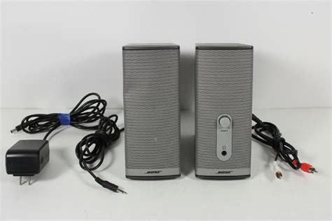 Speaker Bose Companion 2 Series Ii bose companion 2 series ii multimedia speaker system connecting cables 17817392815 ebay