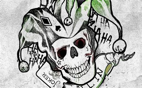 joker skull tattoo designs 10 harley quinn tattoos designs