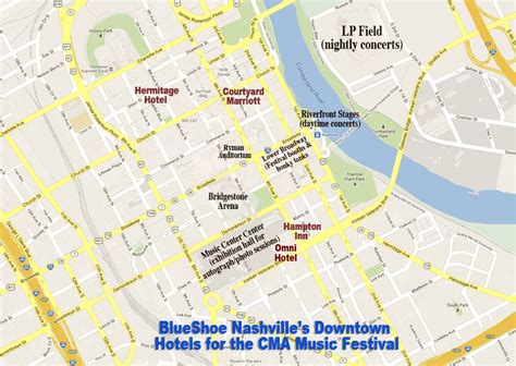 downtown nashville map nashville hermitage hotel downtown