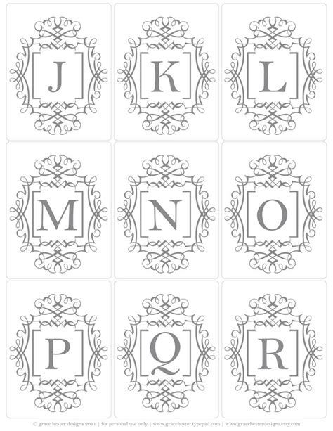 free printable alphabet letters for embroidery 589 best banners borders corners tags memos images on