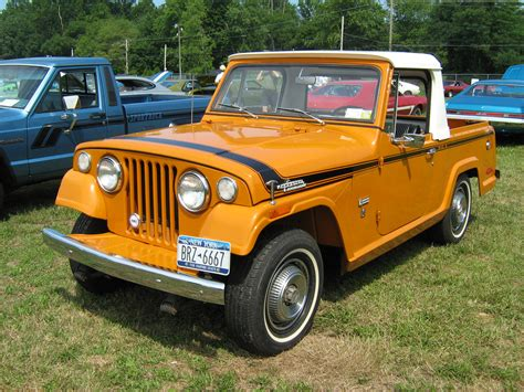 1971 jeep commando file 1971 jeepster commando sc 1 pickup orange l cecil 10