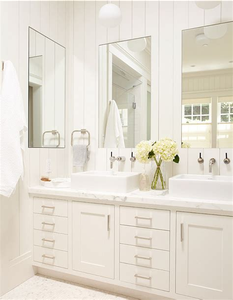 two mirrors in bathroom small cottage with neutral interiors home bunch interior
