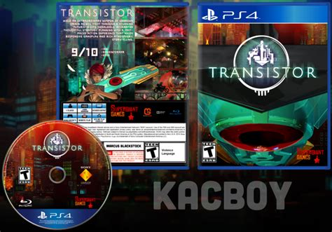 transistor ps3 transistor playstation 4 box cover by kacboy
