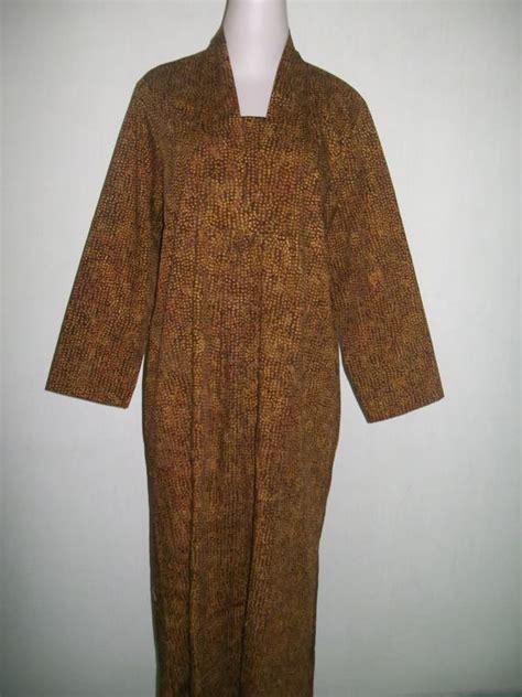 Gamis Abaya Clarissa Batik Kemeja Batik abaya batik murah dan modern bahan katun gm017