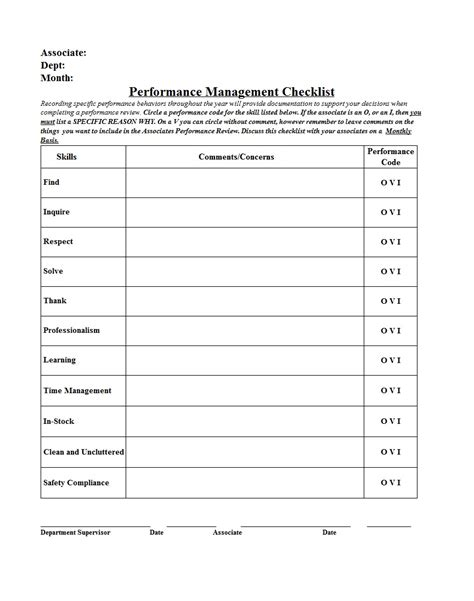 Performance Report Template monthly performance report template sle