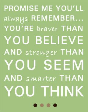 printable christopher robin quotes items similar to promise me quote from christopher robin