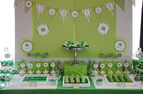Frog Baby Shower by Frog Inspired Guest Dessert Feature Atlas Events