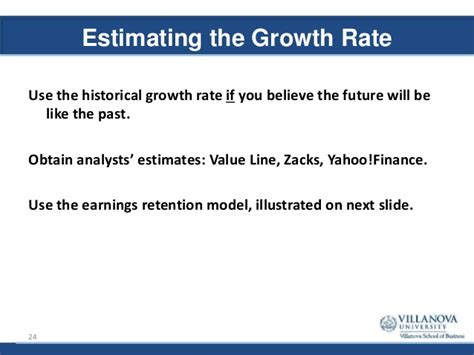 Growth Rate Mba by Mba 8480 Valuation Principles