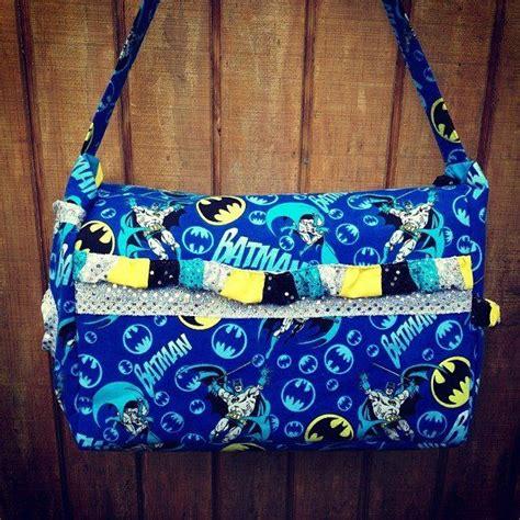 Travel Bag Kanvas Batman custom made batman bag with lots of room pockets includes a travel wipey pocket