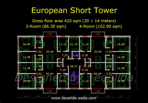 storey commercial building floor plan dwg small mixed use design 5 storey building floor plan autocad drawing of unit