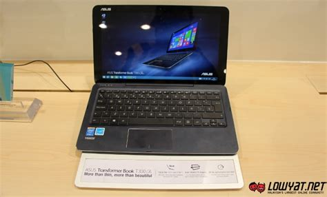 Hp Asus Rm Malaysia Asus Transformer Book T300 Chi Lands In Malaysia For Rm 3199 Lowyat Net