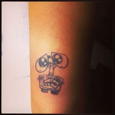 wall e tattoo wall e my