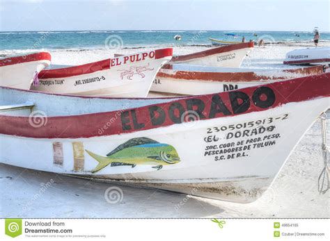 mexican fishing boat local mexican fishing boats editorial image image 49654165