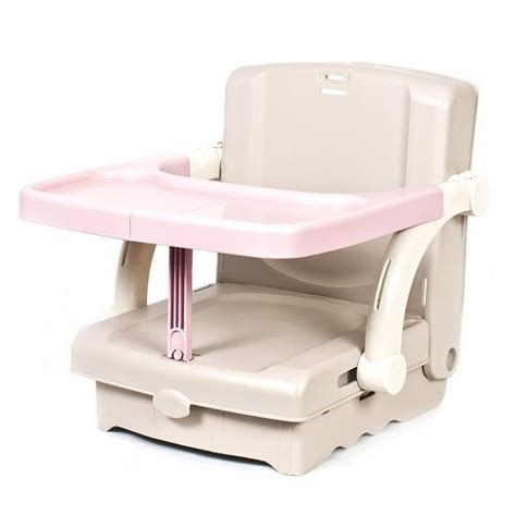 Folding High Chair Booster Seat kit hi seat baby toddler folding travel feeding booster high chair tray ebay