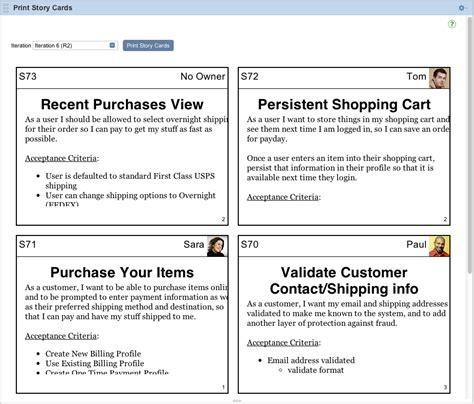 scrum story cards template agile articles and blogs affinity estimation