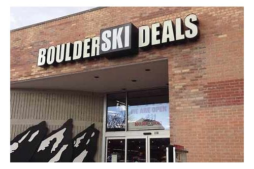 boulder ski deals season rental