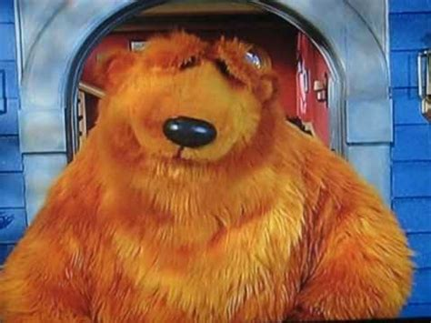 bear inthe big blue house a berry bear christmas bear in the big blue house youtube