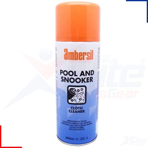 ambersil snooker pool billiards table cloth spray stain