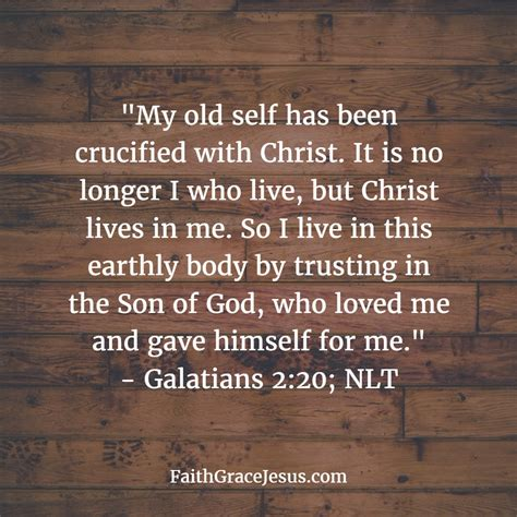 galatians 2 20 tattoo your self has been crucified with