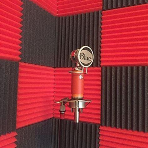 sound insulation foam for walls acoustic foam wedges 12pc soundproofing tiles noise